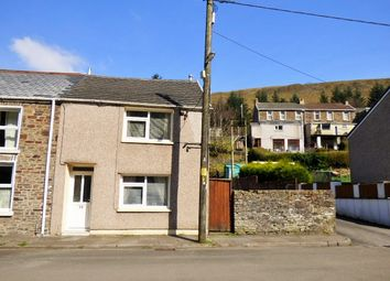 Thumbnail 2 bed end terrace house for sale in Station Row, Pontyrhyl
