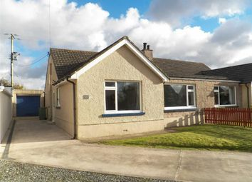 Thumbnail 3 bed semi-detached bungalow for sale in Llwyncoed Road, Blaenannerch, Cardigan