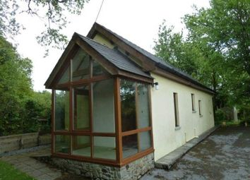 Thumbnail 1 bed bungalow to rent in Dryslwyn, Carmarthen