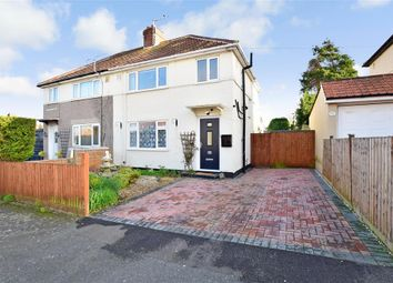 Thumbnail 3 bed semi-detached house for sale in Halstatt Road, Deal, Kent