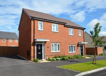 Thumbnail 2 bed semi-detached house for sale in Bell Road, Rugby