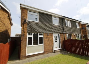 Thumbnail 3 bed semi-detached house for sale in Chequers Close, Pontefract