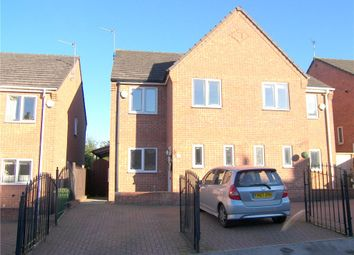 Thumbnail 3 bed semi-detached house to rent in Meadow Court, Alfreton