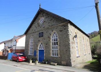 Thumbnail 2 bed detached house for sale in The Old Baptist Chapel, Watergate Street, Llanfair Caereinion, Welshpool, Powys