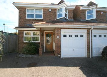 Thumbnail 4 bedroom link-detached house to rent in Manor Road, East Preston, Littlehampton