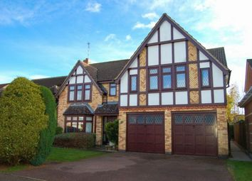 Thumbnail 5 bed detached house for sale in Poppy Leys, Brixworth, Northampton