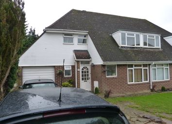 Thumbnail 3 bed semi-detached house to rent in Levett Road, Leatherhead