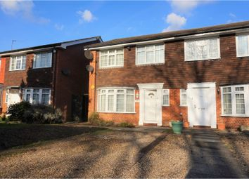 Thumbnail 4 bed end terrace house for sale in Coombe Lane, Raynes Park