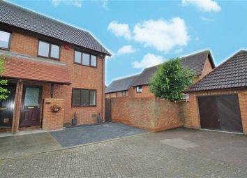 Thumbnail 3 bed semi-detached house to rent in Isaacson Drive, Wavendon Gate, Milton Keynes, Bucks