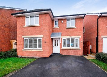 Thumbnail 4 bed detached house for sale in Gloucester Avenue, Middlewich