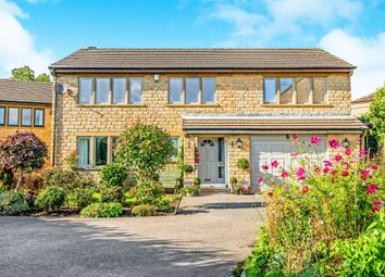 Thumbnail 5 bed detached house for sale in Burton Acres Lane, Highburton, Huddersfield