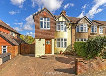 Thumbnail 4 bed semi-detached house for sale in Seymour Road, St Albans, Hertfordshire