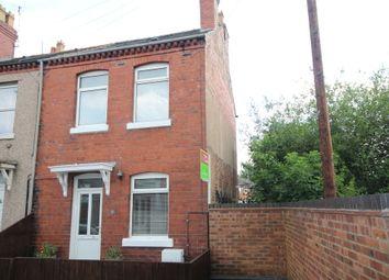 Thumbnail 2 bed end terrace house for sale in Moreton Street, Johnstown, Wrexham