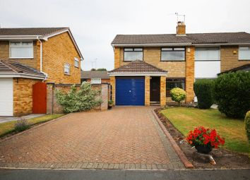Thumbnail 3 bed semi-detached house for sale in Hollingwood Close, Ashton-In-Makerfield, Wigan