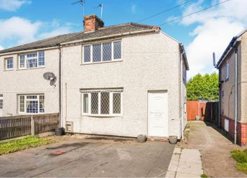 Thumbnail 2 bed semi-detached house for sale in Crabtree Road, Dunscroft, Doncaster