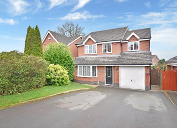 Thumbnail 4 bed detached house for sale in Sunflower Close, Ketley, Telford