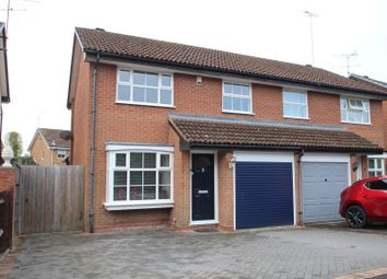 Thumbnail 3 bed semi-detached house for sale in Fordham Way, Lower Earley, Reading