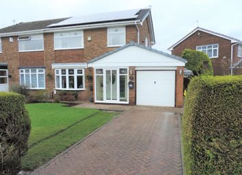 Thumbnail 3 bed semi-detached house for sale in 2 The Fallows, Chadderton