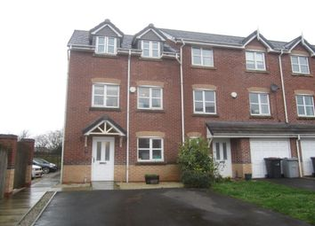 Thumbnail 4 bedroom terraced house for sale in Foxholme Court, Crewe