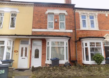 Thumbnail 3 bed terraced house to rent in Emily Road, Birmingham