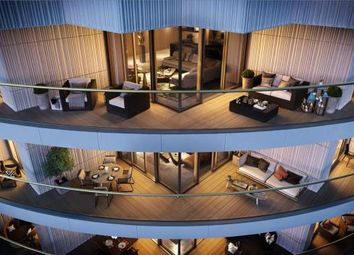 Thumbnail 3 bed flat for sale in One Park Drive, Canary Wharf