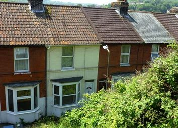Thumbnail 2 bed terraced house for sale in Heathfield Avenue, Dover
