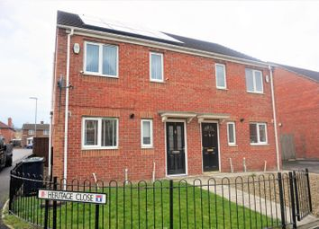 Thumbnail 3 bed semi-detached house for sale in Heritage Close, Gateshead
