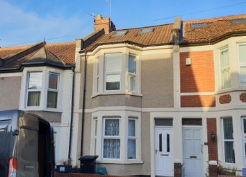 Thumbnail 3 bedroom terraced house to rent in Ashfield Road, Bristol