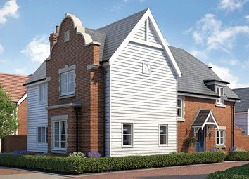 "Thumbnail 4 bed property for sale in ""The York"" at Church Road, Stansted"