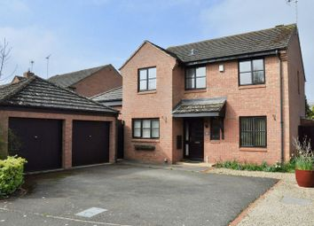 Thumbnail 4 bed detached house for sale in St. James Close, Harvington, Evesham