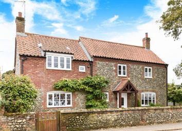 Thumbnail 4 bed detached house for sale in High Street, Docking, King's Lynn