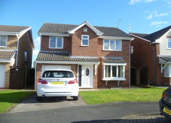 Thumbnail 4 bed detached house to rent in Sullivan Walk, Hebburn