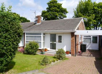 Thumbnail 2 bed semi-detached bungalow for sale in Priory Way, Whorlton Grange, Westerhope