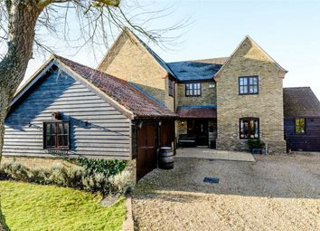 Thumbnail 5 bedroom detached house for sale in Low Road, Little Stukeley, Huntingdon