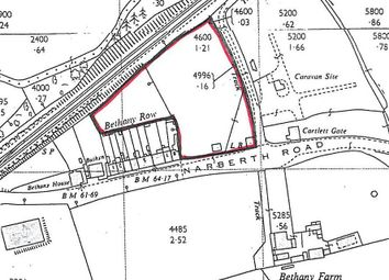 Thumbnail Land for sale in Narberth Road, Haverfordwest