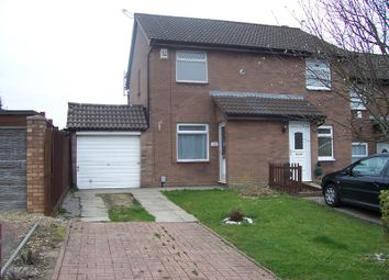 Thumbnail 2 bed semi-detached house to rent in Lydstep Road, Barry