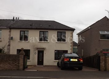 Thumbnail 3 bed semi-detached house to rent in Cefn Fforest Avenue, Cefn Fforest, Blackwood, Caerphilly.
