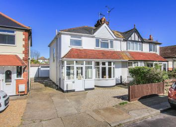 Thumbnail 3 bed semi-detached house for sale in Baddlesmere Road, Tankerton, Whitstable