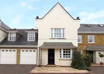 Thumbnail 4 bed terraced house for sale in Primrose Road, Hersham, Walton-On-Thames, Surrey