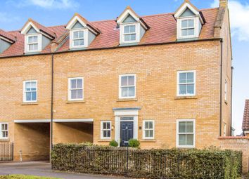 Thumbnail 4 bed town house for sale in Brookfield Way, Lower Cambourne, Cambridge