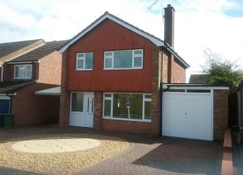 Thumbnail 3 bed detached house for sale in Cedar Close, Bayston Hill, Shrewsbury
