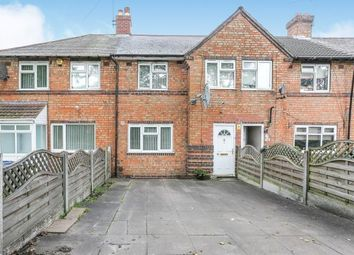 Thumbnail 3 bed terraced house for sale in Nailstone Crescent, Acocks Green, Birmingham, West Midlands