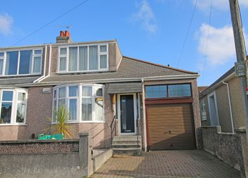 Thumbnail 2 bed semi-detached house for sale in Brean Down Road, Peverell, Plymouth.
