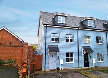 Thumbnail 3 bed end terrace house for sale in Larkspur Drive, Burgess Hill