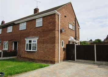 Thumbnail 3 bed town house to rent in Enderby Road, Scunthorpe