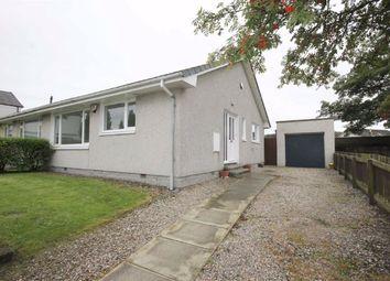 Thumbnail 2 bed semi-detached bungalow for sale in Ashfield Drive, Elgin