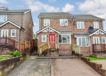 Thumbnail 3 bed semi-detached house for sale in Pen Llwyn, Broadlands, Bridgend.