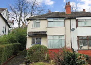 Thumbnail 3 bed semi-detached house for sale in Roundhay Grove, Leeds, West Yorkshire