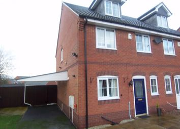 Thumbnail 4 bed semi-detached house to rent in Mulberry Close, Mansfield, Nottinghamshire