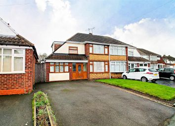 Thumbnail 3 bed semi-detached house for sale in Fivefields Road, Willenhall